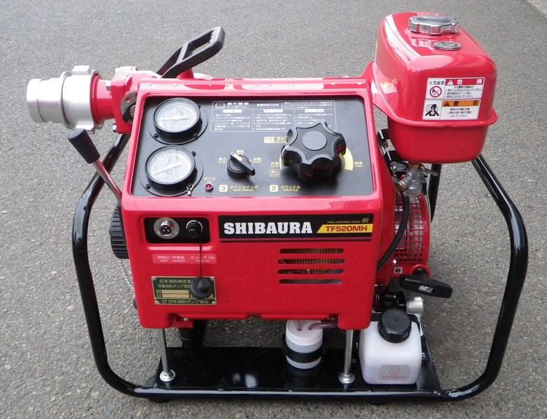 豊岡消防署 消防ポンプ自動車(CD-Ⅰ)が更新されました!